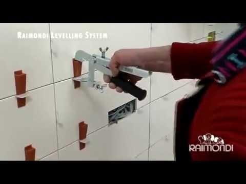 Tegel Leveling Systeem : Raimondi tile leveling system youtube
