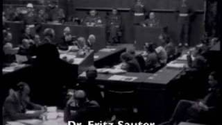 On may 4, 1946, defendant walter funk was examined by his counsel, dr. fritz sauter. the testimony concerned fuehrer principle and its application to the...