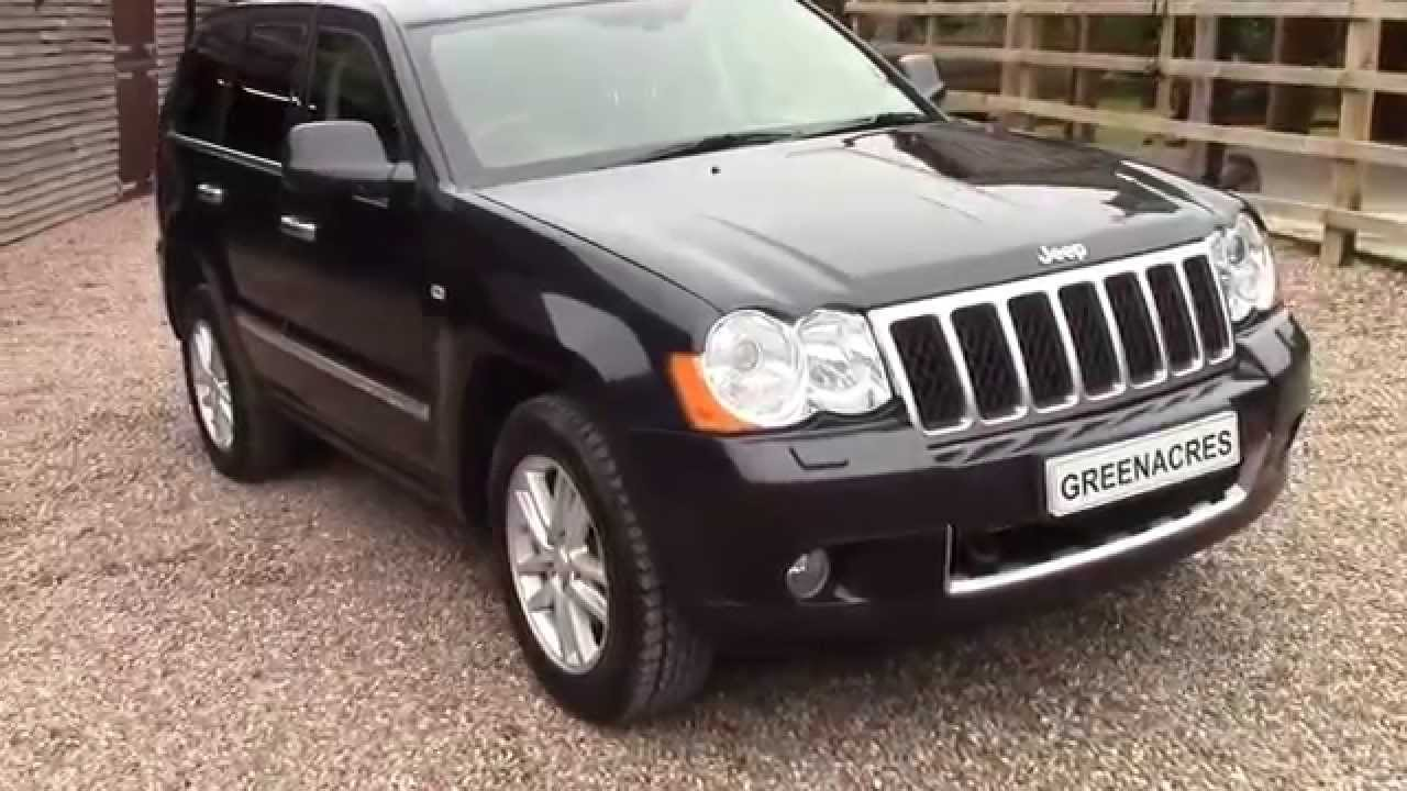 used 2010 10 reg jeep grand cherokee overland 3 0 crd v6 for sale in nottinghamshire youtube. Black Bedroom Furniture Sets. Home Design Ideas