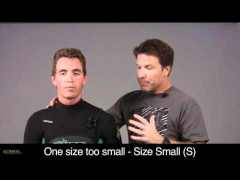 Xcel Wetsuits Fit Points Video