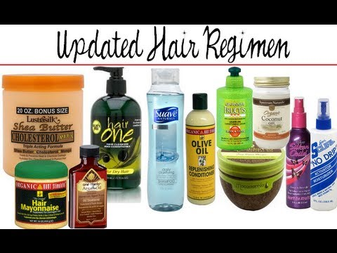 Updated Hair Regimen amp; Products Relaxed Hair Dec 2012