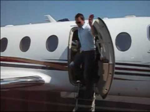 Business Trip on Private Jet to Monaco 2008
