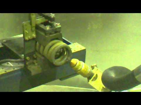 Отрезка пружины плазмой с помощью робота