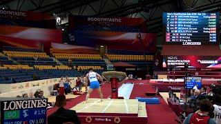 ЧМ 2018 (мужчины) – Опорный прыжок / 2018 World Championships (men) – Vault