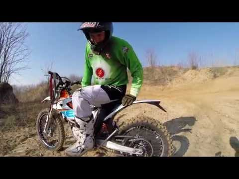 First hungarian KTM Freeride E-XC electric cross test 2015 with Motomax