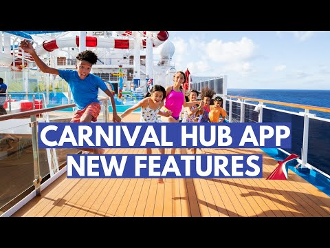 New Features To Carnival Cruise Hub App
