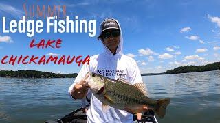 Ledge Fishing The TENNESSEE RIVER (Lake Chickamauga) with Jason From BassBoatElectronics.com