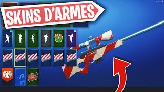 DO ALL THE SKINS of ARMES on Fortnite 'IN GAME' with HXD!!
