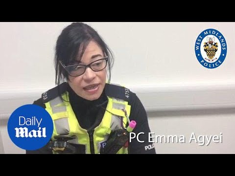 PC Emma Agyei talks about being shockingly assaulted on the job - Daily Mail
