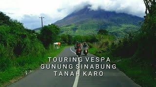 VespaVlog - Touring Tanah Karo di Kaki Gunung Sinabung