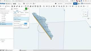 Onshape урок 2 ( Revolve, sweep, sketch, chamfer) 3д CAD моделирование