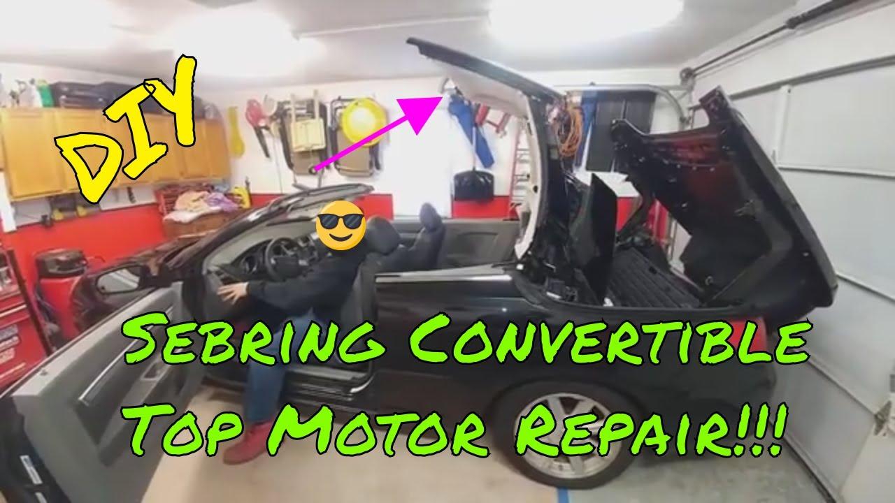 Sebring Convertible Top Motor B S Customs Chrysler Brake Light Repair