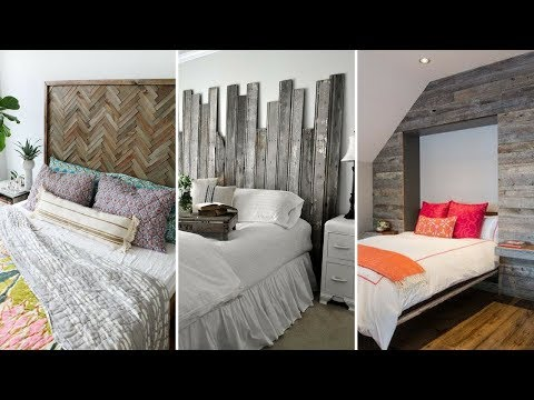 💝 5 Classic Rustic Wooden Headboard Ideas Worth Copying For Your Bedroom 💝