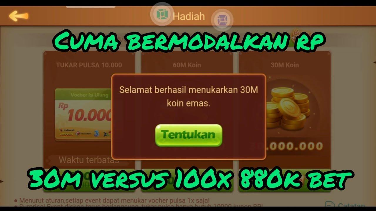 Lagi kere kita gas modal rp   Higgs Domino Indonesia - YouTube