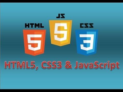 HTML5, CSS3 Und JavaScript - Die Erste Website [#002] AKTUELL