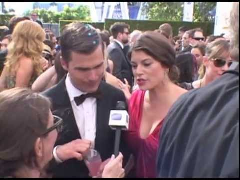 "Gail Simmons and Hugh Acheson (""Top Chef"") at the 2013 Emmy Awards - EMMYTVLEGENDS.ORG"