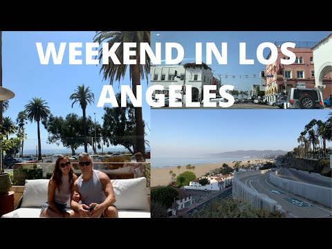 WEEKEND IN LOS ANGELES VLOG | Santa Monica, Beverly Hills, Rodeo Drive, Malibu