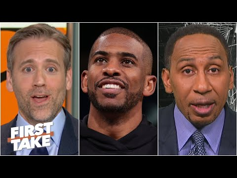 Stephen A. and Max disagree about Chris Paul's NBA MVP chances | First Take