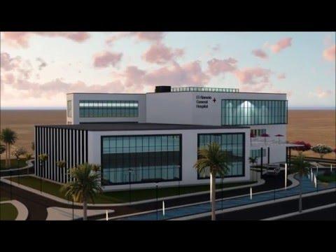 El Alameine Hospital , Architecture Design Project Designed by Architect MARK WAFIK , Lumion 6.0