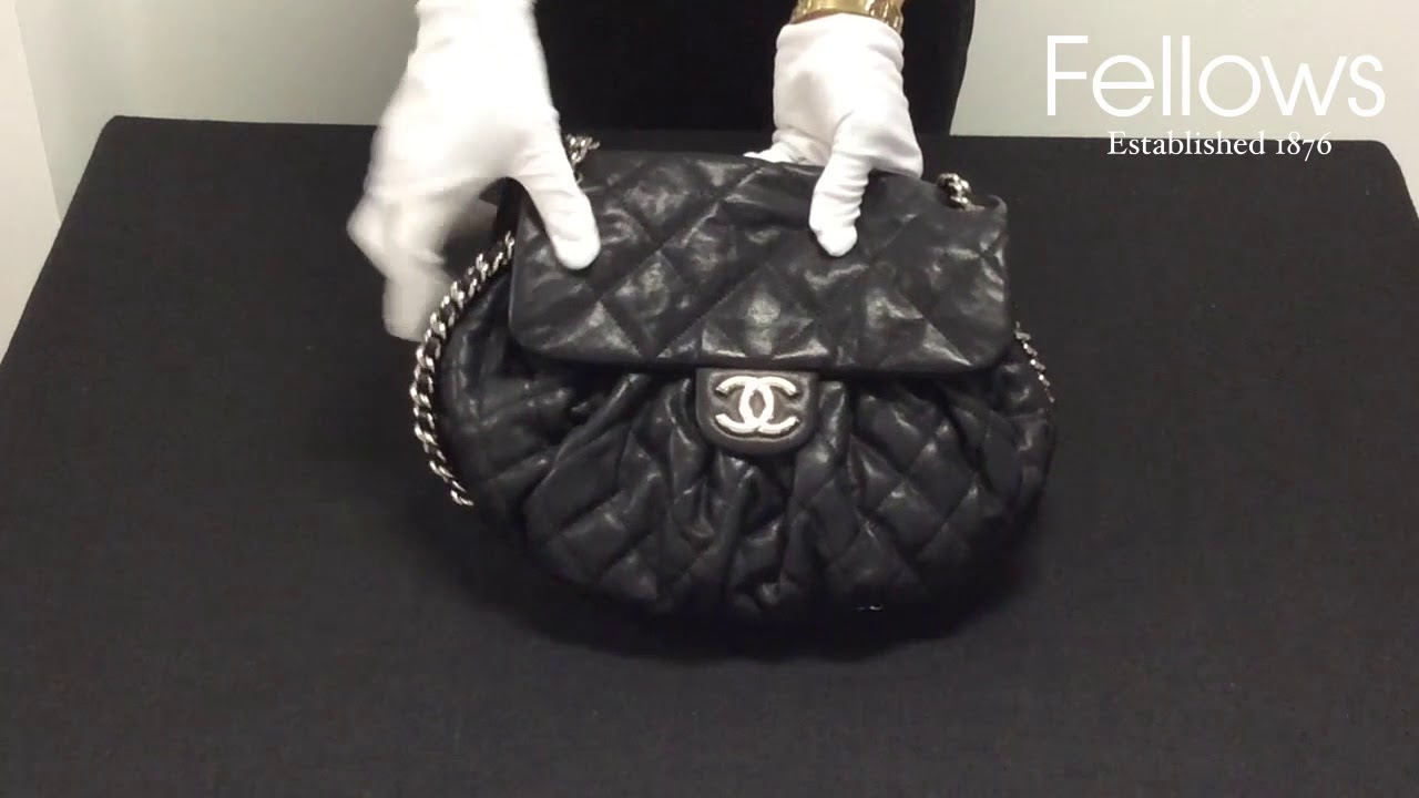 17447b69f66b A Chanel Chain Around Flap Handbag - YouTube