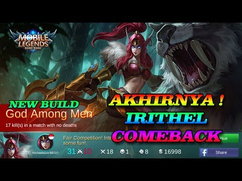 IRITHEL NEW BUILD SEASON 7 ! KILL 18 COY LANGSUNG !!