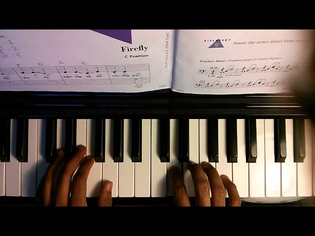 Piano Adventures Lesson Book 1 - 001 Firefly p4