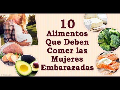 Alimentos que no se deben comer embarazada