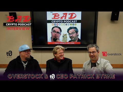 Extra: Overstock & t0 CEO Patrick Byrne