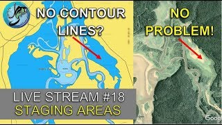 Best Staging Areas for Pre-Spawn Bass on Small Lakes | Fish the Moment Live Stream #18