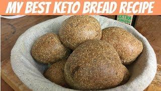 My other awesome keto bread recipe | Almond flour bread/bun