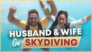 Jay Shetty & His Wife Radhi Go Skydiving