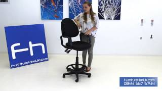Draughtsmans Chair Demo - Furniture Hire Uk