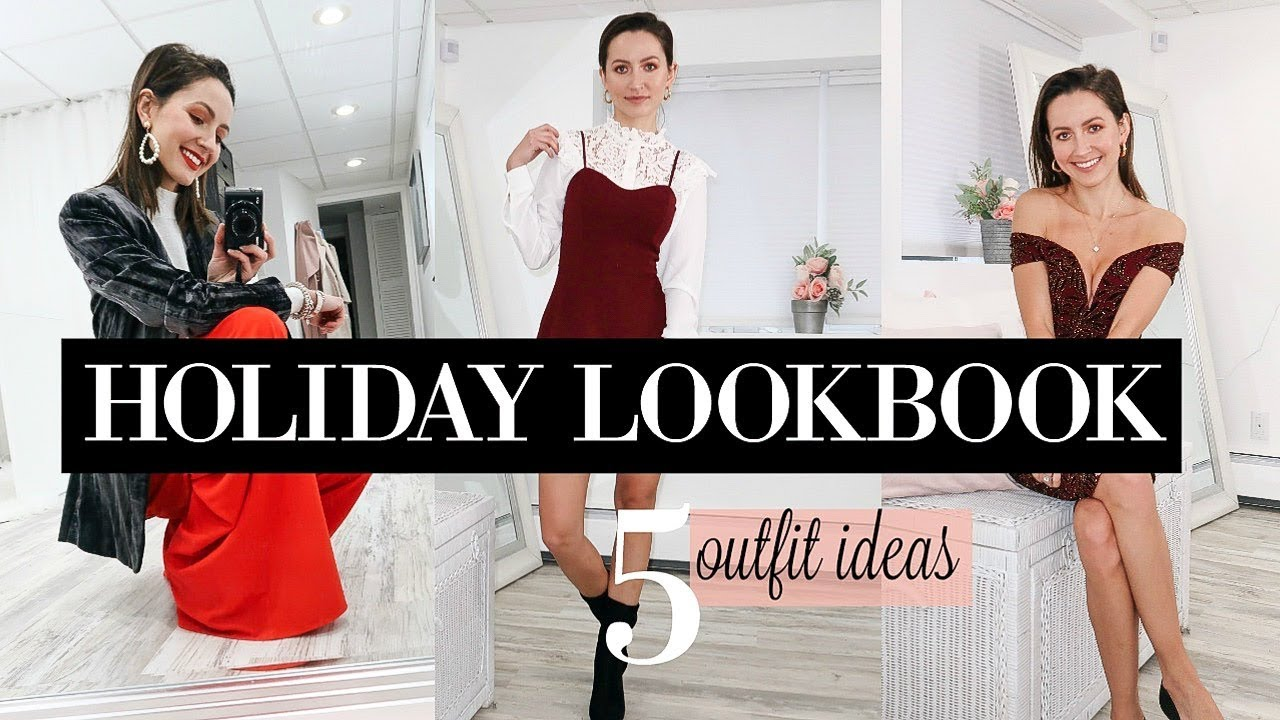 [VIDEO] - 5 Holiday Outfit Ideas 2018 | Christmas & New Years Eve Lookbook 8