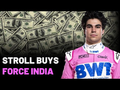 Stroll Buys Force India F1 Team!