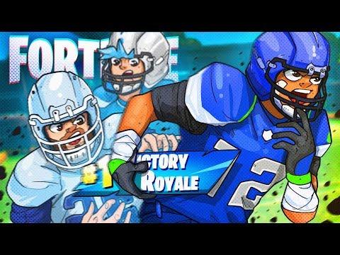 I GOT THE NEW NFL SKINS EARLY! - Fortnite Battle Royale!