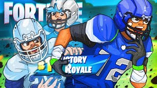 EU TENHO A NOVA NFL SKINS EARLY! -Battle Royale do Fortnite!
