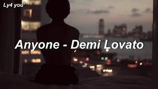 Anyone - Demi Lovato // TRADUÇÃO- legendado