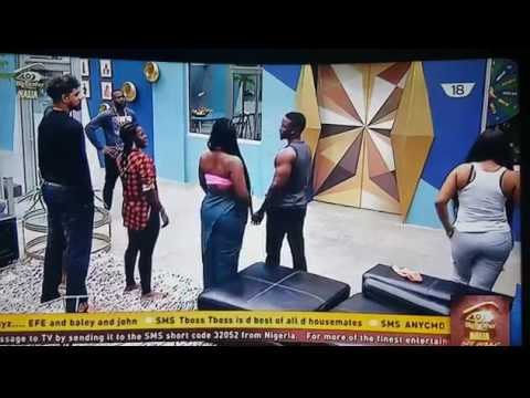 Download Mr Ibu joins housemates for Big Brother task