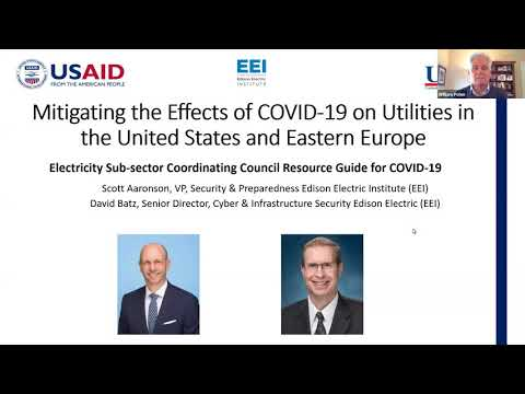 Eastern Europe & Eurasia: Mitigating the Effects of COVID-19 on Utilities in the US & Eastern Europe