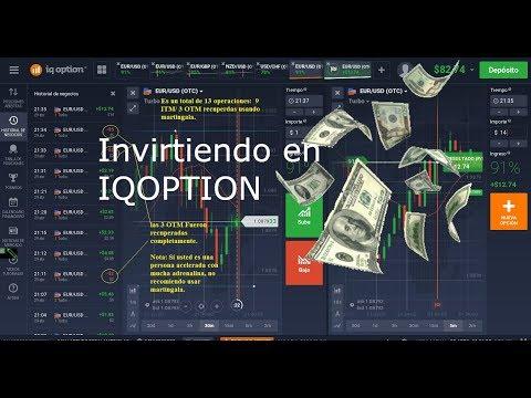NUEVO: OPERANDO EN IQOPTION (MEJOR MÉTODO)