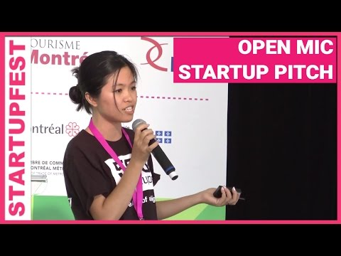 Open Mic Time To Pitch Your Startup // Startupfest 2013