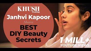Janhvi Kapoor Shares Her Best DIY Skincare Secrets   Tutorial   Beauty Secrets