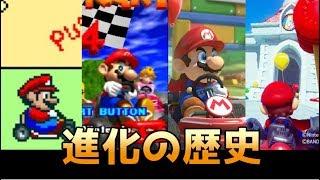「マリオカート」進化の歴史 History of Mariokart(1992-2017)【マリオカートVRまで】