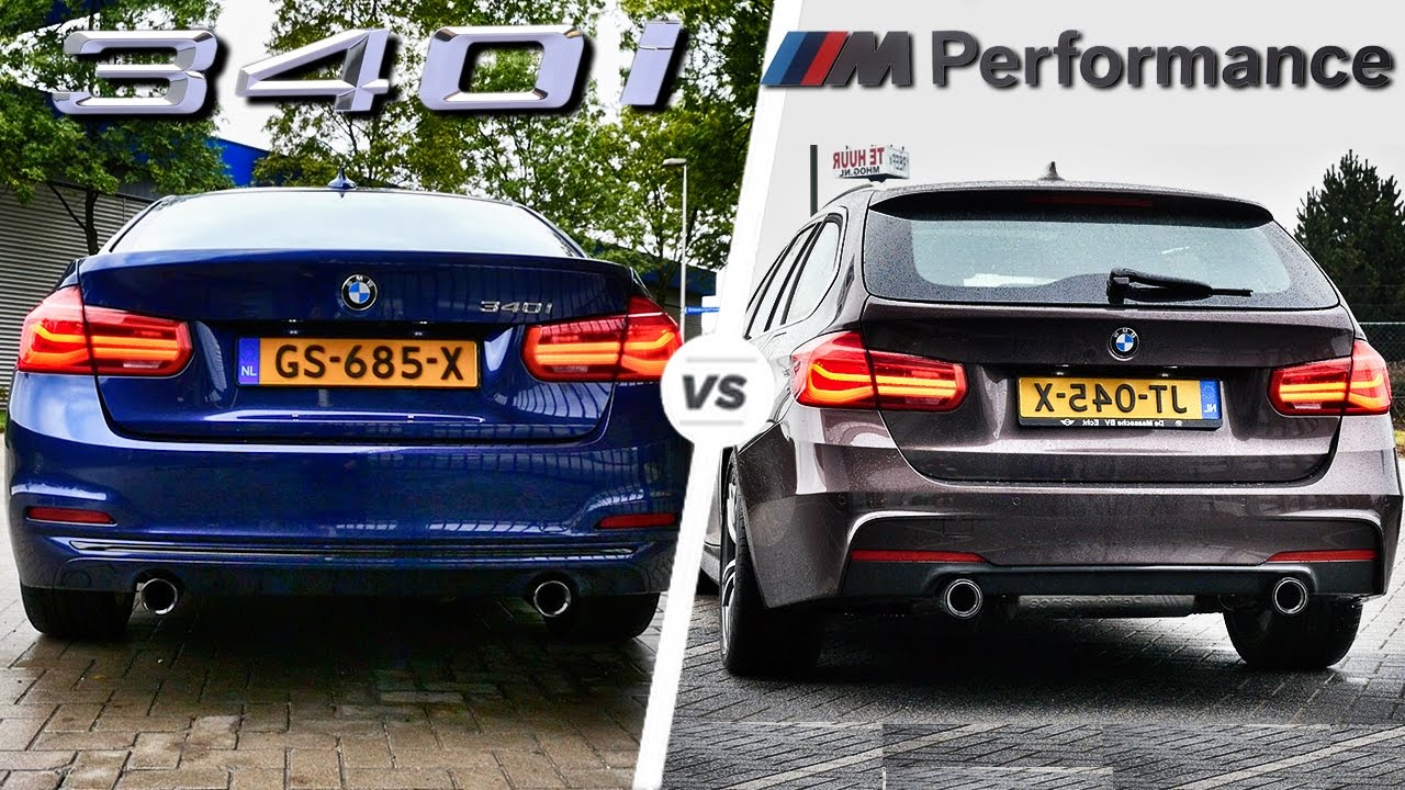 BMW 3 Series bmw 335d performance parts BMW 340i M Sport vs M Performance EXHAUST SOUND by AutoTopNL - YouTube