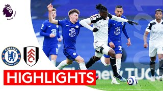 Chelsea 2-0 Fulham | Premier League Highlights | Havertz double hands Chelsea the points