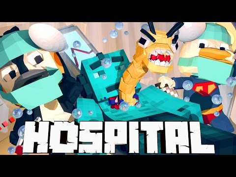 Minecraft Mods Hospital - Mutant Tapeworm Parasite! (Atlantis Roleplay) #2