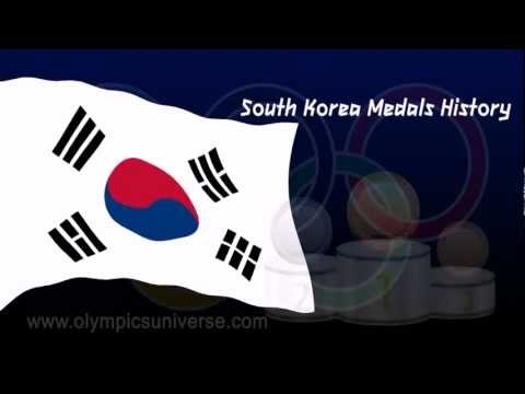 South Korea 2012 London Olympic Medals