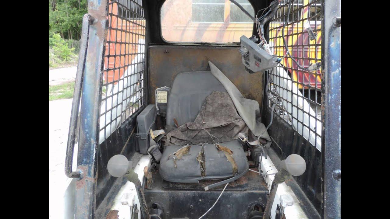 1995 Bobcat 753 Skid Steer Dismantled For Sale