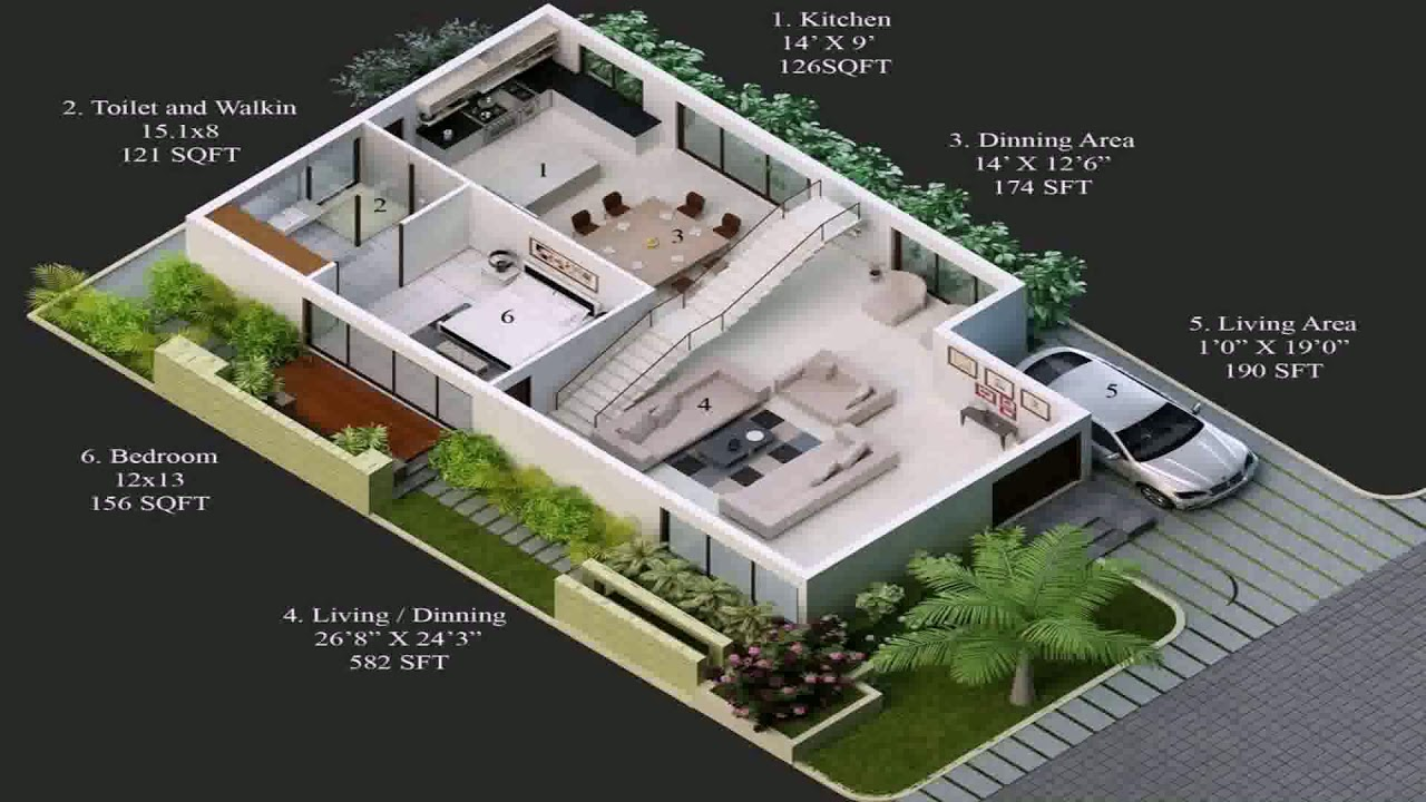 Duplex house plans for 30x50 site west facing youtube for 30x50 duplex house plans