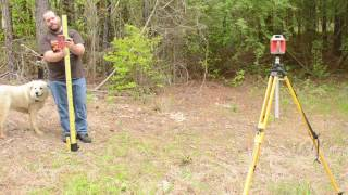 How To Use a Rotating Laser Level Video